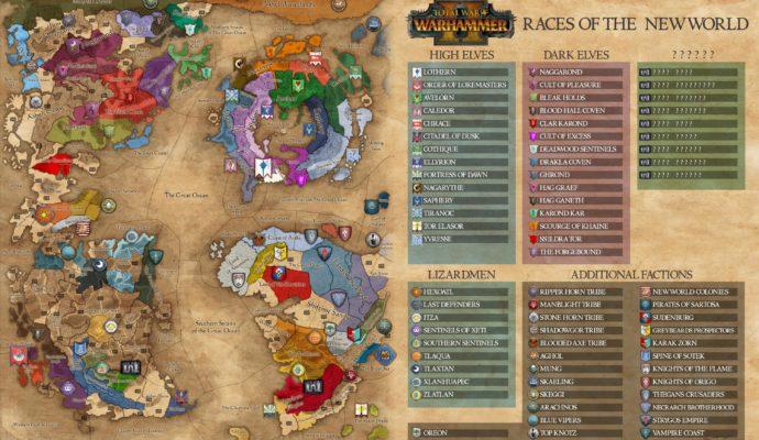 Total War: Warhammer II - Le Nouveau Monde