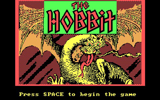 1982 - The Hobbit - écran titre