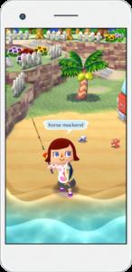 Animal Crossing: Pocket Camp la pêche