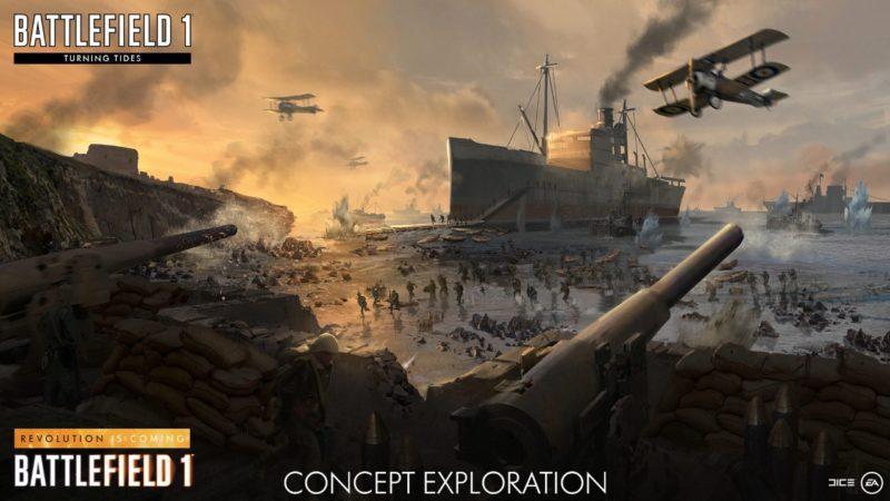 Battlefield 1: Turning Tides - Concept Art