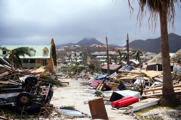 Danger Lane ouragan Irma