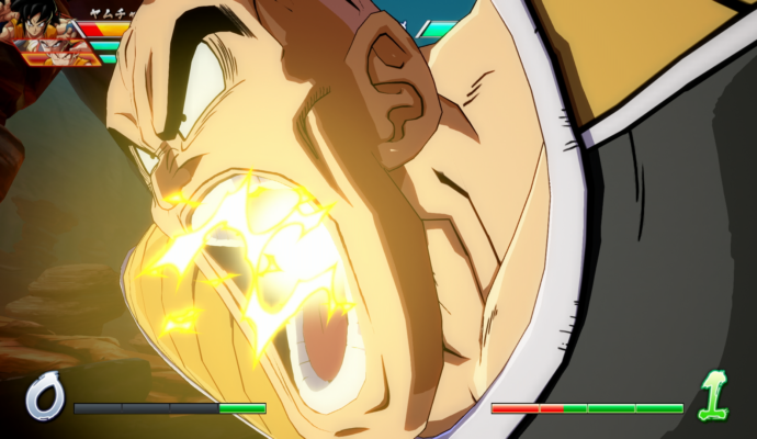 Dragon Ball FighterZ - Attaque Nappa