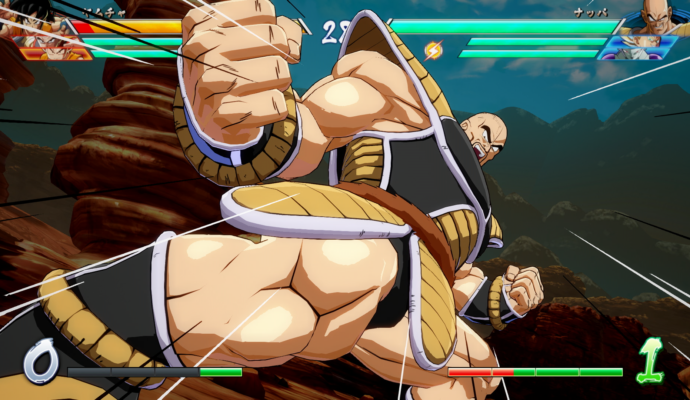 Dragon Ball FighterZ - Nappa