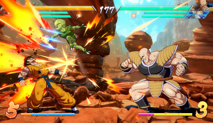 Dragon Ball FighterZ - Nappa et Yamcha