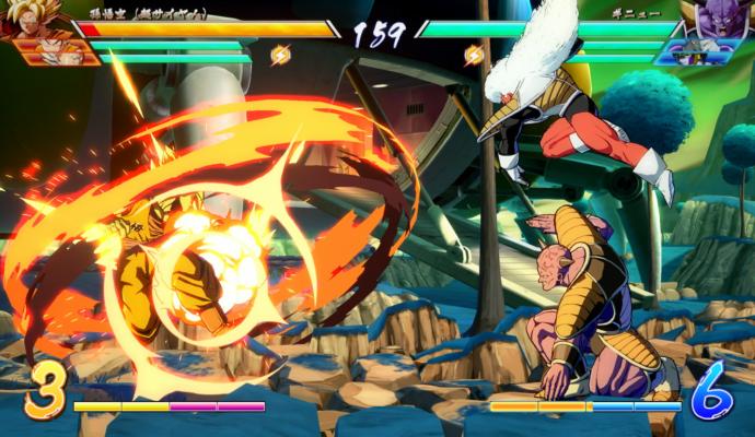 Dragon Ball FighterZ - combo ginyu