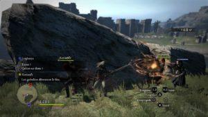 Dragon's Dogma: Dark Arisen combat contre des gobelins