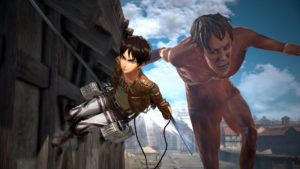Attack on Titan 2 bataille