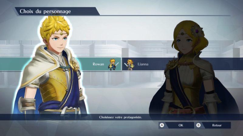 Fire Emblem Warriors - Choix des personnages