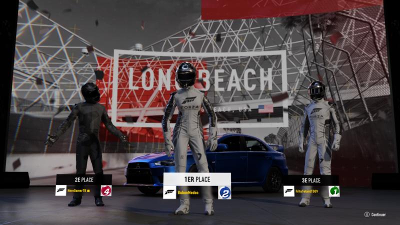 Forza Motorsport 7 - Podium