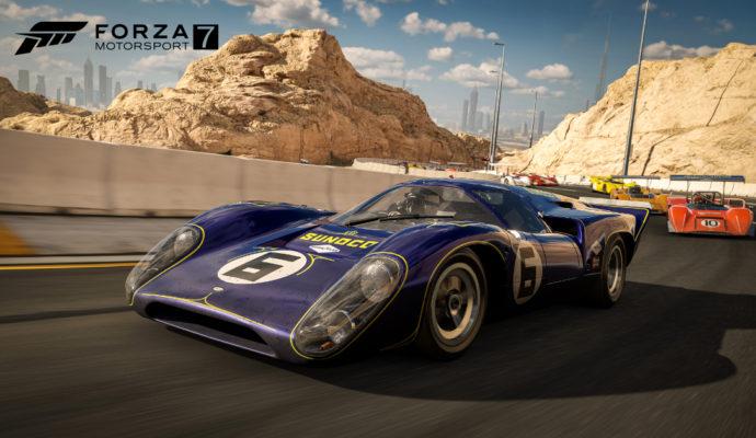 Forza Motorsport 7 -Course de Dubaï