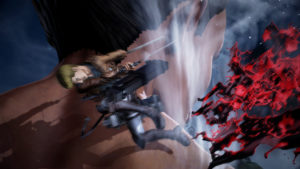 Attack on Titan 2 Gelgar combat