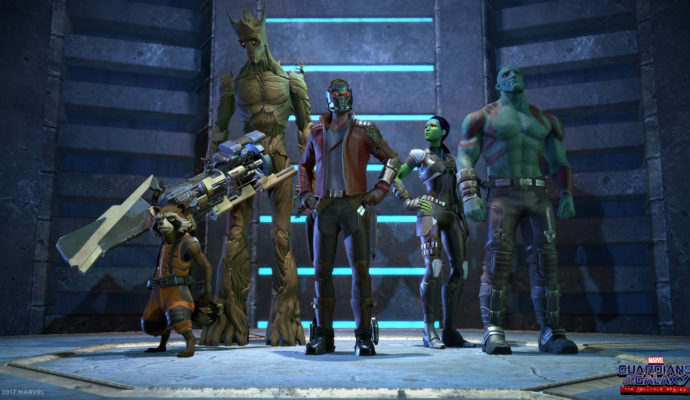 Marvel's Guardians of the Galaxy: The Telltale Series personnages