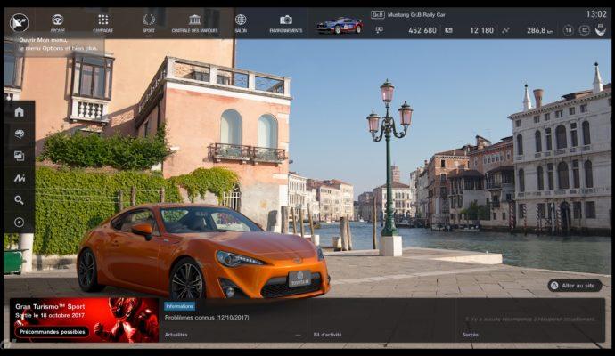 Gran Turismo Sport Démo