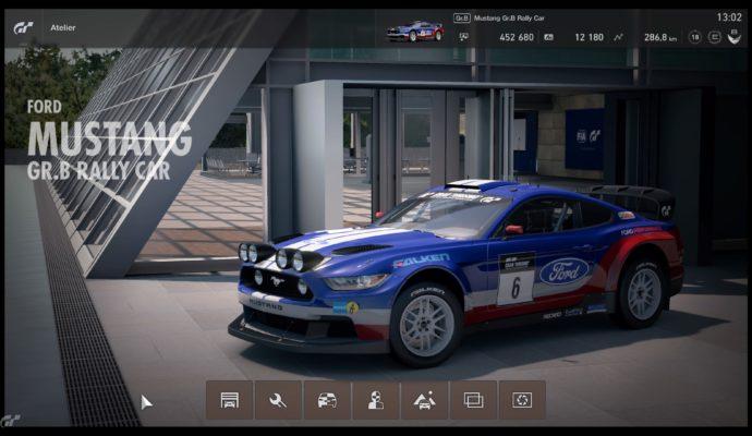 Gran Turismo Sport Démo - Mustang Gr B