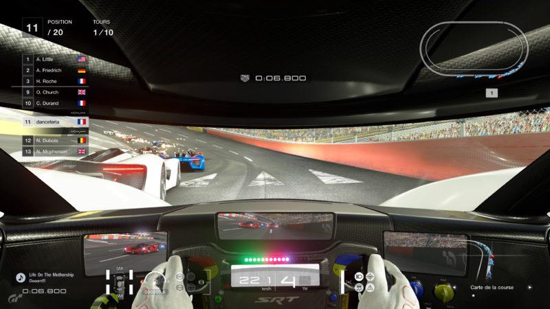 Gran Turismo Sport Démo - Course sur anneau