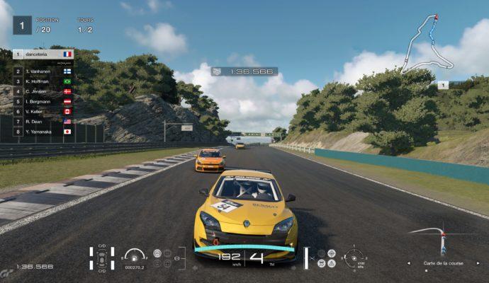 Gran Turismo Sport Démo - Renault Megane
