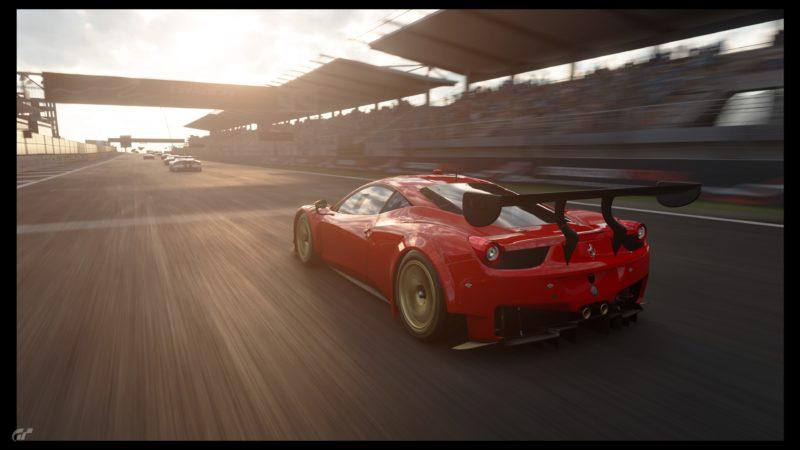 Gran Turismo Sport Démo - Ferrari mode photo