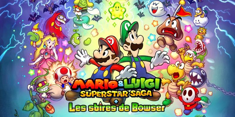 Mario & Luigi : Superstar Saga + Les sbires de Bowser titre