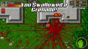 Kick Ass Commandos grenade