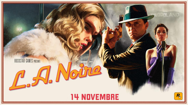 L.A. Noire Artwork officiel