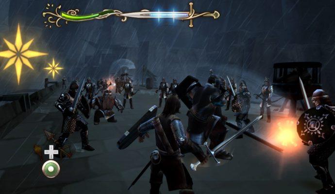 La quête d'Aragon Combat