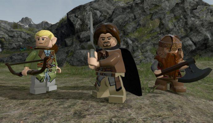 Lego le Seigneur des Anneaux Personnages