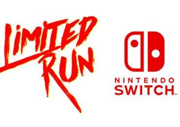 Limited Run X Nintendo Switch