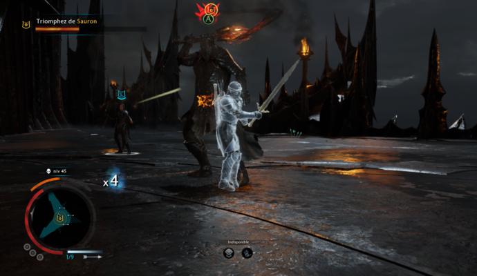 L'ombre de la guerre - Combat Sauron Celebrimbor