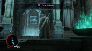 L'ombre de la guerre - Porte secrète
