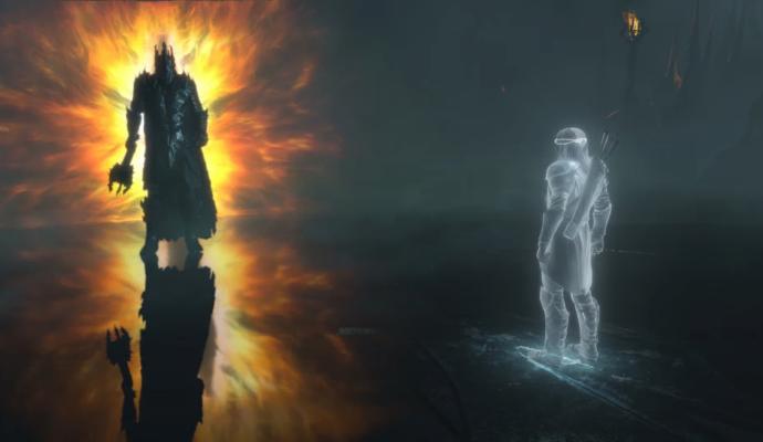 Ombre de la Guerre Sauron vs Celebrimbor