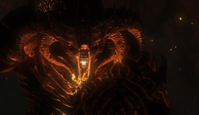 L'ombre de la guerre - Tête du Balrog