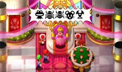 Mario & Luigi : Superstar Saga + Les sbires de Bowser peach