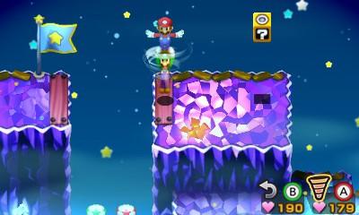 Mario & Luigi : Superstar Saga + Les sbires de Bowser saut tourbillon