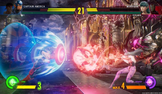 Marvel vs. Capcom Infinite combat