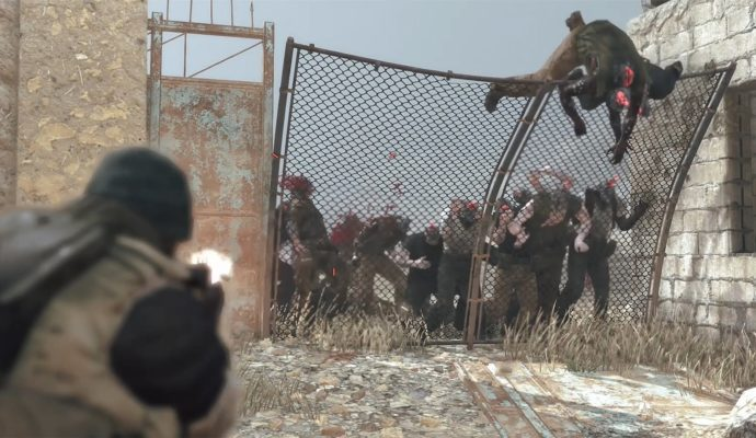 Metal Gear Survive Zombambis
