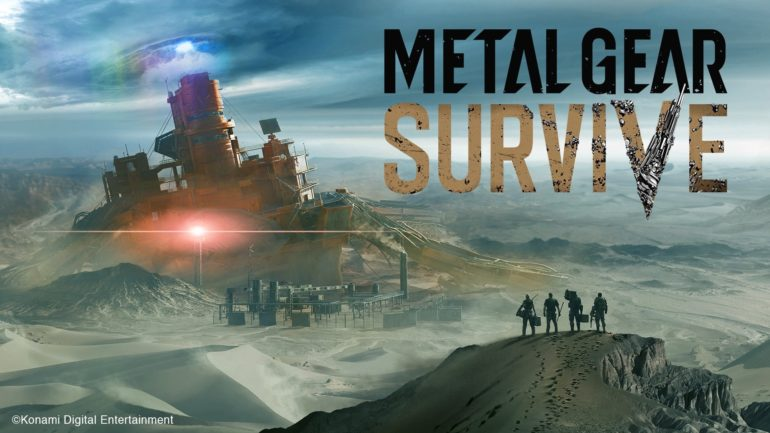 Metal Gear Survive key art