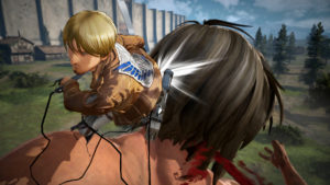 Attack on Titan 2 Mike battle