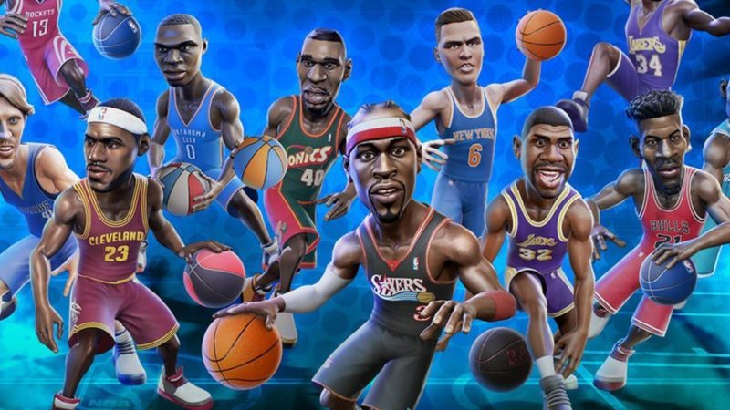 NBA Playgrounds joueurs