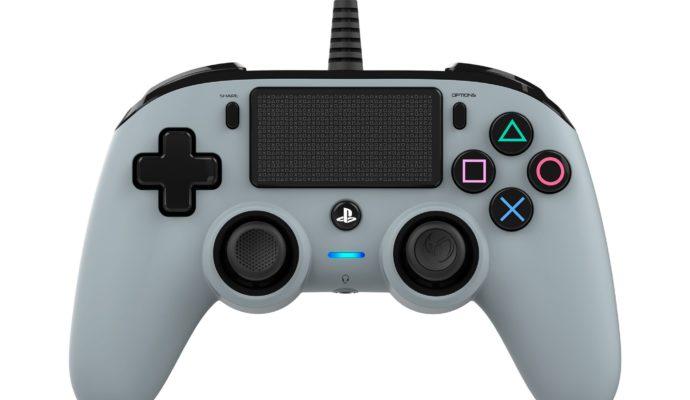 Nacon Compact Controller PS4 gris - face avant