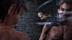 Attack on Titan 2 Nanaba combat
