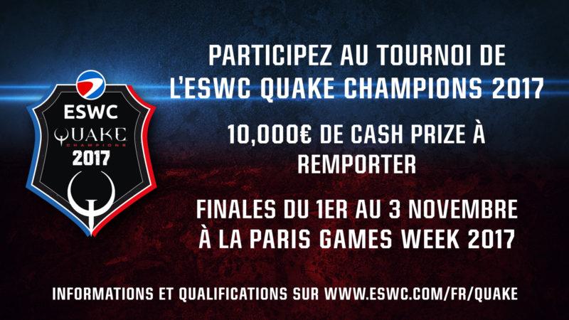ESWC Quake Champions 2017
