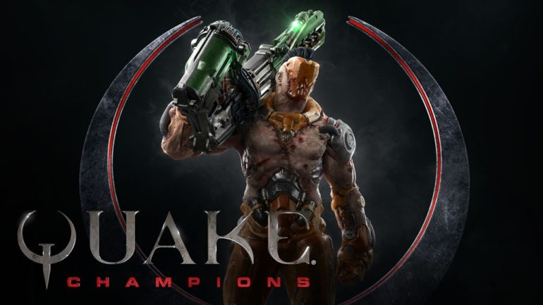 Quake Champions artwork
