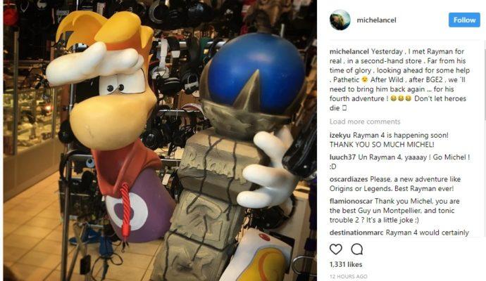 Rayman 4 - Déclaration de Michel Ancel