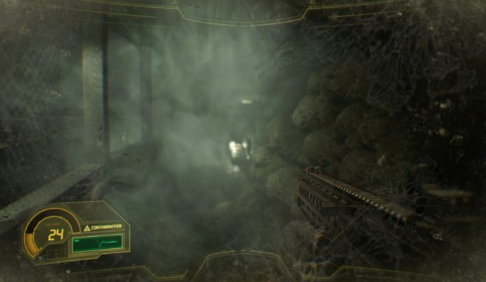 Resident Evil 7 Biohazard salle poison