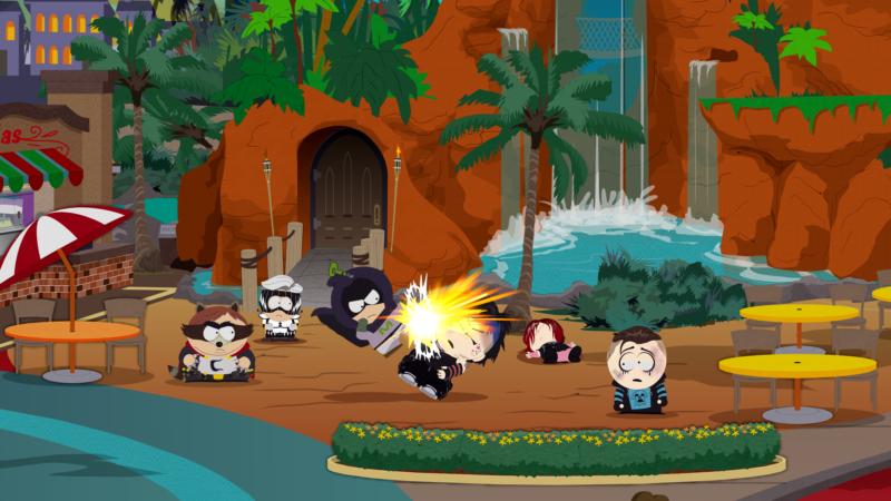 South Park : l'Annale du Destin Taper des Gothiques dans la bouche