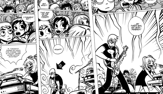 Scott Pilgrim Clash at Demonhead
