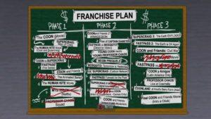 South Park : l'Annale du Destin plan de franchise de Cartman