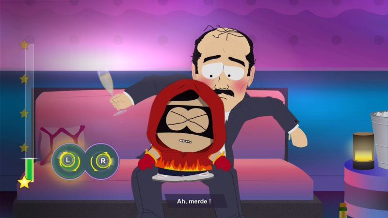 South Park : l'Annale du Destin Lap Dance