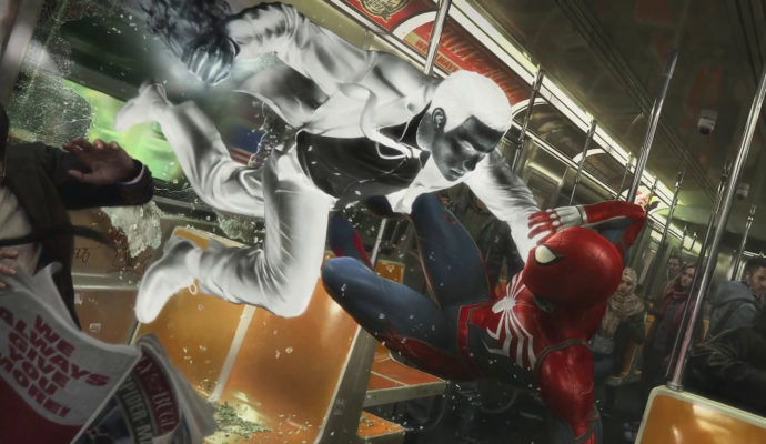 Marvel's Spider-Man Spider-Man vs Mister Negative