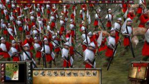 Stronghold 2 graphismes armée